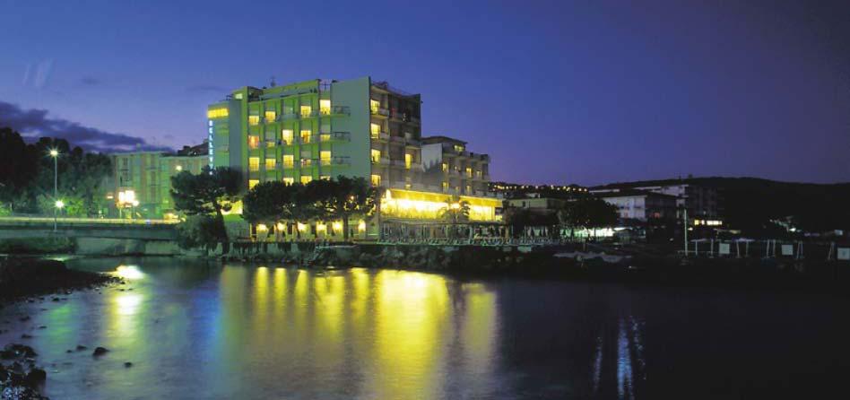 hotel a diano marina - hotel bellevue notturno