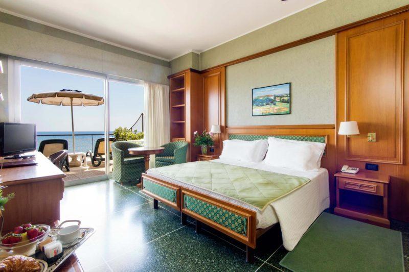 camere hotel diano marina - doppia superior con terrazzo