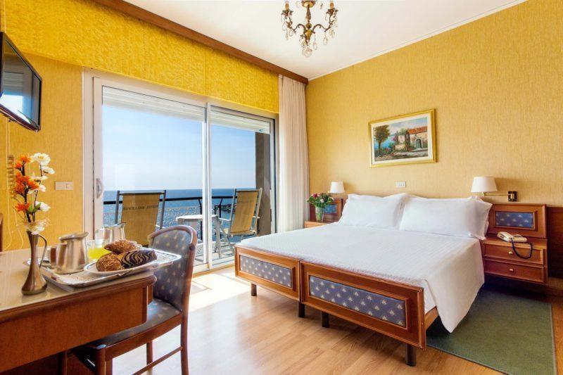 camere hotel diano marina - doppia vista mare