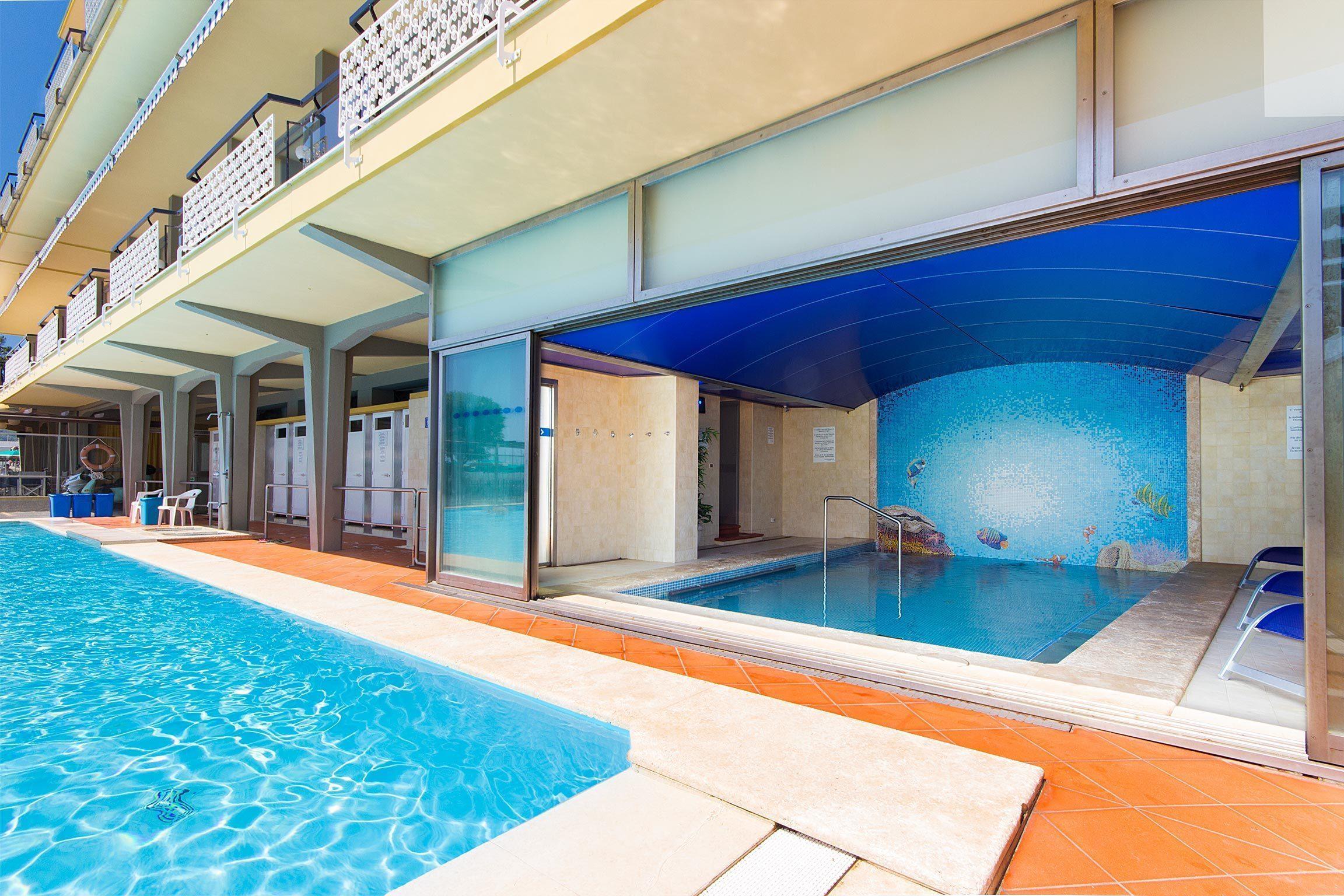 hotel con piscina a diano marina - le due piscine